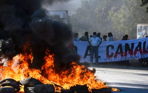 Popular unrest over the Nicaragua Canal