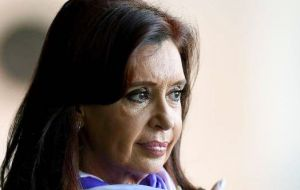 Argentina President Cristina Fernandez suffers from a broken ankle... Or is it something else?