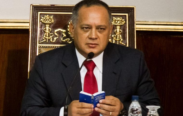 Legislature Speaker Diosdado Cabello.