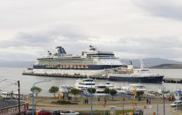 The Celebrity Infinity and Golden Princess call regularly at the port of Ushuaia, considered the gate to Antarctica