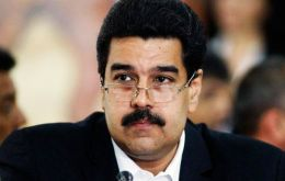 """Under Chavez's Bolivarian vision we will accomplish our task of defending the right to peace and sovereignty of the peoples of the world,"" claimed Maduro"