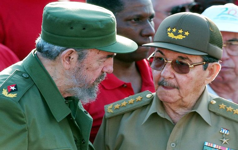 The embargo has almost certainly helped keep the Castro brothers [Fidel and Raul] in power for the last five decades.