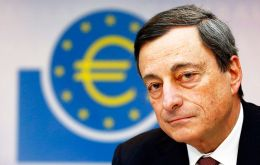 """We have to avoid too-high inflation and we have to avoid too-low inflation as well,"" Draghi said."