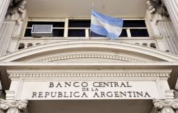 The sale of grains and oilseed helped stop the drain of Central Bank international reserves