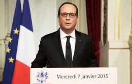 """We are in an extremely difficult moment. Several terrorist attacks have been thwarted in recent weeks,"" Hollande told reporters. (Pic Reuters)"