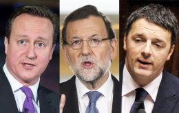 Cameron, Rajoy, Merkel, Renzi among other leaders will be attending the march on Sunday next to president Hollande