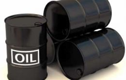 The oil price has now fallen by more than half since June, when the price stood at 110 per barrel.