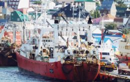 The acquisition of Pesantar includes fishing vessel Echizen Maru, quota of Patagonian toothfish and an 800 metric tons processing capacity plant