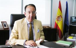 Jorge Domecq headed the Gibraltar Desk in Madrid even during the Tripartite Forum period