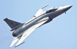 The FC-1/JF-17's, 'Thunder' or 'Fierce Dragon' is a lightweight, single-engine, multi-role combat aircraft developed jointly by Pakistan and China