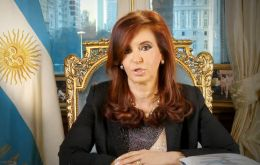 """AMIA: once again, (there is) no justice nor truth,"" President Cristina Fernández wrote in her Twitter account."