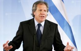 Almagro a career diplomat who was named Minister by President Jose Mujica thus has the way clear for becoming the successor of Insulza