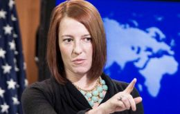 """Judicial authorities are investigating his death and we call for a complete and impartial investigation,"" US State Department spokeswoman Jen Psaki said"