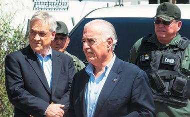 Piñera and Pastrana, former Chile and Colombia presidents are participating in a forum in Caracas to discuss democracy