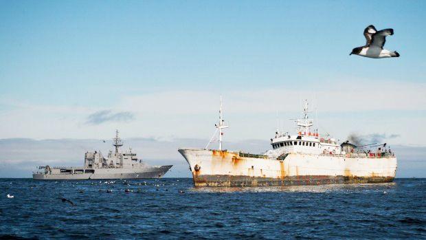 В Таиланде задержано браконьерское рыболовное судно