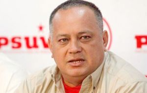 Defector Salazar also claimed that Diosdado Cabello, head of the National Assembly and number two in the Chavista regime is running a drug ring.