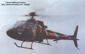 Argentina reached an agreement in 2011 to co-start production of China's Changhe Z-11 light helicopter