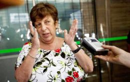 Fein said she was suspending vacations because it was her moral obligation and 'it was more important, in memory of prosecutor Nisman'