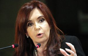 President Cristina Fernández de Kirchner has taken all necessary steps to facilitate the judicial investigation