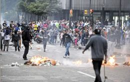Worst incidents occurred in San Cristobal, the cradle of the protests that shook the country from February to June 2014