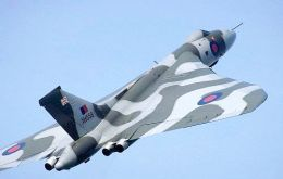 The Vulcan's RAF career peaked during the 1982 Falkland's conflict when the type's famous Black Buck missions became longest bombing raids in history.