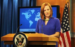 "State Department spokesperson Psaki said the latest accusations ""like all previous such accusations, are ludicrous"""