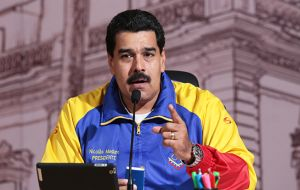 """We have foiled a coup attempt against democracy and the stability of our homeland"" said Maduro on national television"
