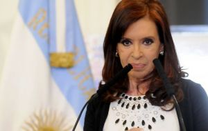 """Some are amazed at how I can endure all I have to endure"", but living in Patagonia I learned that I can endure anything"" said Cristina Fernandez"
