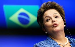 "Polls show 44% of Brazilians say Rousseff is doing a ""bad"" or ""very bad"" job, while 77% of interviews believe Rousseff was aware of Petrobras corruption."