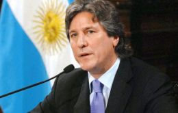 The investigation centers on whether Boudou helped Ciccone get out of bankruptcy in 2010 and later steered a contract to new owners to print money.