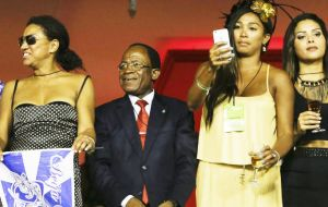 The group triggered controversy by staging a presentation focusing on Equatorial Guinea, run by Africa's longest-ruling dictator, Nguema Mbasogo.