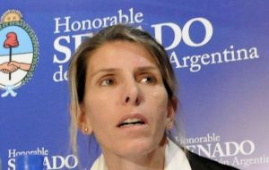 Last week in Congress Arroyo Salgado said she wanted the case of Nisman's death be taken to the Inter-American Commission on Human Rights