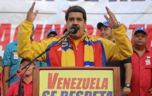 Maduro has countered that the opposition is backed by Washington and is plotting violence against his socialist government.
