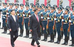 Venezuela's Maduro travelled to China in early January and alleges to have secured 20bn for his country's ailing economy