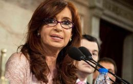 Cristina Fernandez made a reference to Argentine bonds that backfired