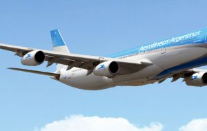 Aerolineas Argentinas was also mentioned: the company was bankrupt but under nationalization it increased flight frequency 102%, tickets sold 80% and revenue by 71%.