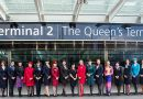 The award is one of the first bestowed on the new Terminal 2/the Queen's Terminal which opened on June 4th, 2014