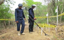 The International Campaign to Ban Landmines (ICBL-CMC) ranked Colombia second behind Afghanistan for highest number of children killed or wounded by landmines