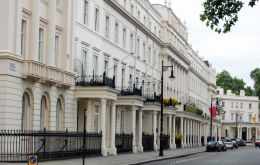 New research showed 36,342 London properties covering 2.25 square miles were held by hidden companies registered in 'offshore havens', the organization said.