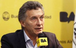 """There will be too many dollars in Argentina starting in December. I (will) let the exchange rate float"" pledged Buenos Aires city mayor Mauricio Macri."