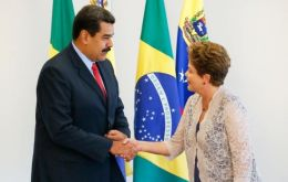 Maduro made the request personally to president Rousseff on a couple of opportunities according to Brazilian diplomatic sources