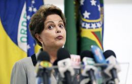 """We are a government that does not tolerate corruption and we have the duty and obligation to fight impunity and corruption"" said Rousseff."