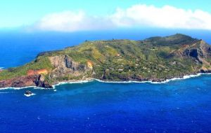 The protected marine reserve, extends from 12 miles offshore Pitcairn Island to the full 200 nautical mile limit, encompassing over 830,000 sq kms of ocean