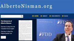 """AlbertoNisman.org was created to honor the legacy of late Argentine Prosecutor Natalio Alberto Nisman and his tireless pursuit of justice"" says FDD"