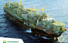 The P-58 is one of Petrobras' biggest-producing platforms in the Campos basin, a region off the coast of the southeastern state of Rio de Janeiro