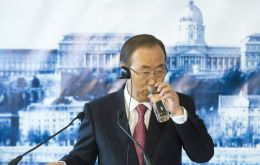 "Ban Ki-moon warned that access to safe drinking water and sanitation was among ""the most urgent issues"" affecting populations across the globe."