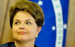 "The office of president Dilma Rousseff said ""Brazil is very interested in participating in this initiative,"" from the country's main trading partner"