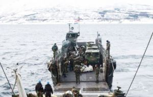 According to the Sunday Express, the surprise attack involved members of the Special Boat Service who landed from the sea tasked with capturing key strategic targets