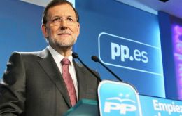 Rajoy's People's Party (PP) would win the Valencia vote but halve its seats to 28 from 55 in 2011, leaving it short of a majority