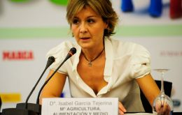 Spain's Minister of Agriculture, Food and Environment, Isabel Garcia Tejerina, made the announcement to implement between 2014/2020.